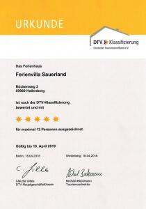 3. DTV-Klassifizierung
