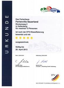 1. DTV-Klassifizierung