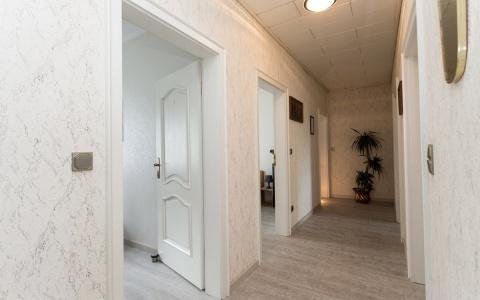 Zugang zu den Schlafzimmern 3-6